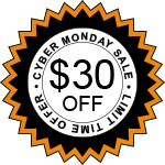 Save $30 On Cyber Monday Purchase of Summit Plus Air Purifier Sticker