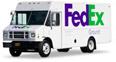 Image of a FedEx Van